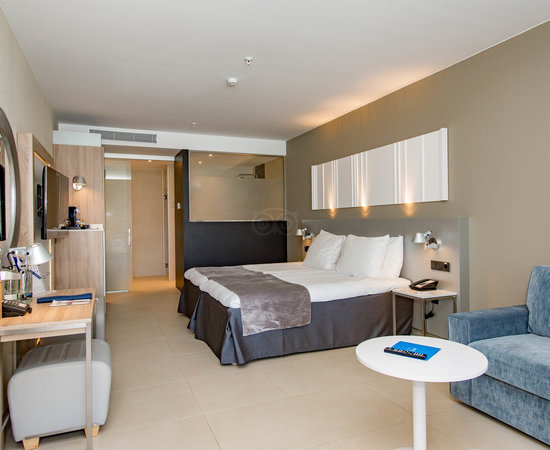 The Two Bedroom Suite with Pool View at the Radisson Blu Resort & Spa, Gran Canaria, Mogan