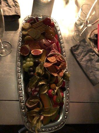 Sala Silvergruva: Vickningskorg, snacks för kvällen