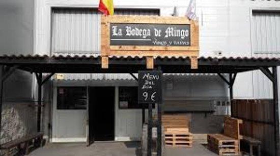 Pontejos, Spanien: La Bodega de Mingo