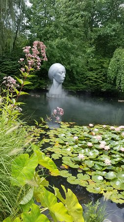 Grounds For Sculpture: Part of the beautiful Money Gardens