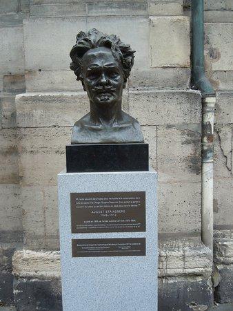 Buste d'August Strindberg