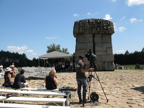 Treblinka, Polen: Never again!