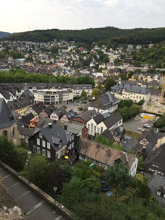 Dillenburg, Tyskland: view Wilhelmsturm