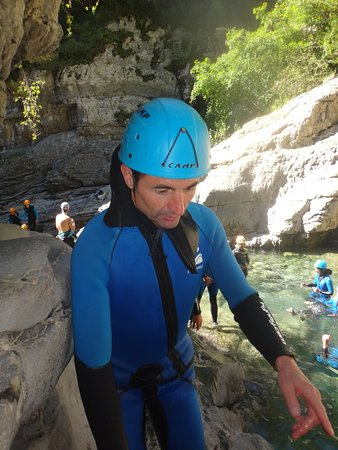 Canyoning Pyrenees: Descente