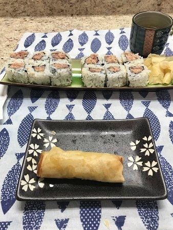 Brookhaven, PA: Spicy tuna roll