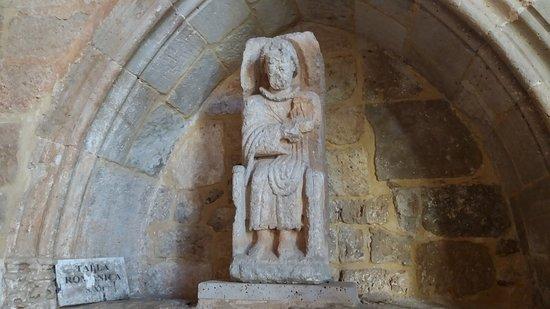 Sasamon, إسبانيا: escultura