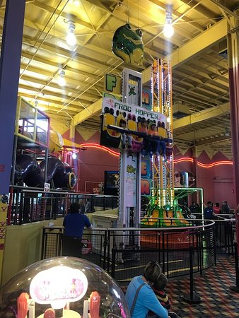 The Frog Hopper - Picture of Family Fun Center and Bullwinkle's