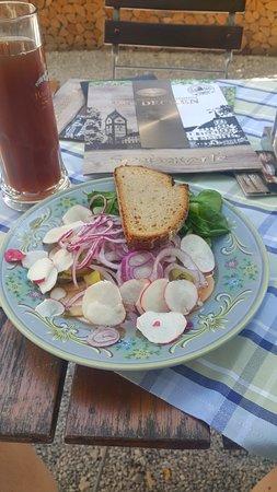 Scheyern, Deutschland: Bayerischer Wurstsalat