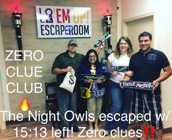 Lock'em Up Escape Rooms