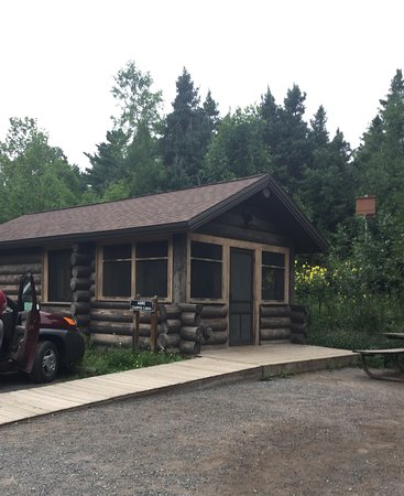 Our camper Cabin for four. - Picture of Jay Cooke State Park, Carlton -  Tripadvisor