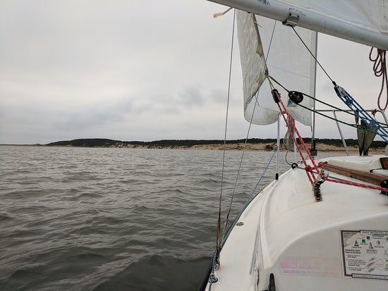 Outer Cape Sailing: Dreary day, but a great sail nonetheless!