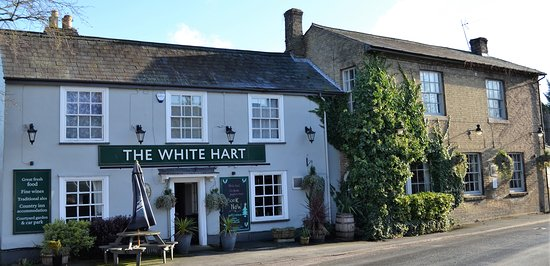 The White Hart Country Inn: Main front entrance