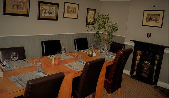Fulbourn, UK: Restaurant (The Snug)