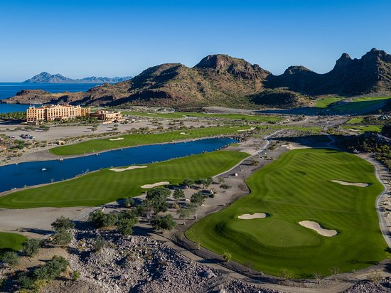 Loreto, Mexico: The opening hole is an inviting, fairly level par-4 designed to get players off to a good start.