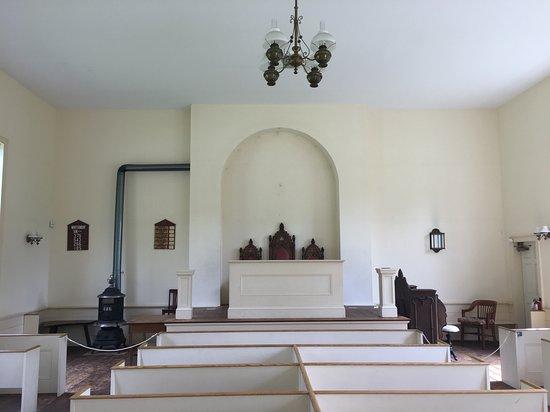 Blairstown, NJ: inside church