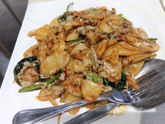 Stir Fried Rice Cake With Shredded Cabbage And Pork Picture Of Baiyulan Shanghai Cuisine Richmond Tripadvisor
