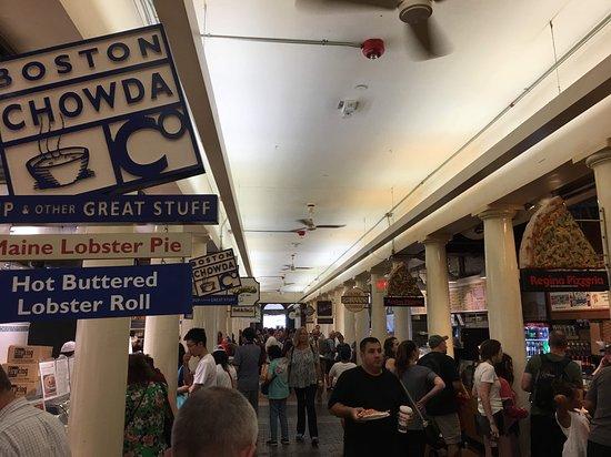 Boston Chowda - Quincy Market - August 2018