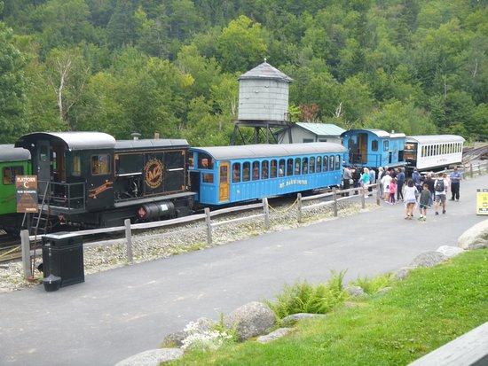 Mount Washington: montée avec train diesel ou à vapeur