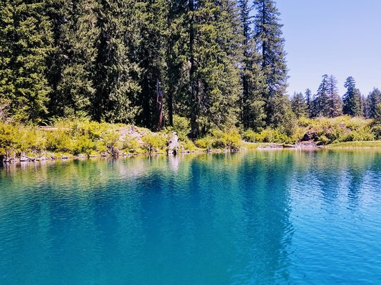 Clear Lake Boat Rentals - Picture of Clear Lake, Sisters