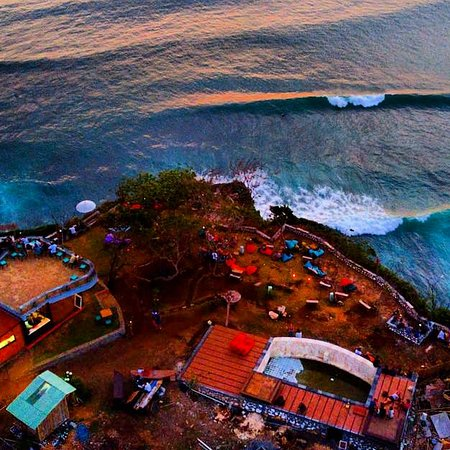 Uluwatu, Indonesia: Our place on cliff