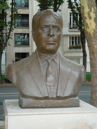 Buste d'Habib Bourguiba