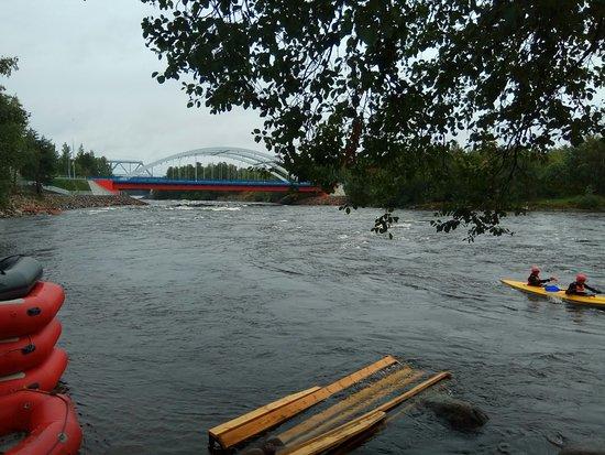 Losevo, Rusko: Вуокса, рафтинг.