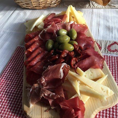 Delicious Italian platter