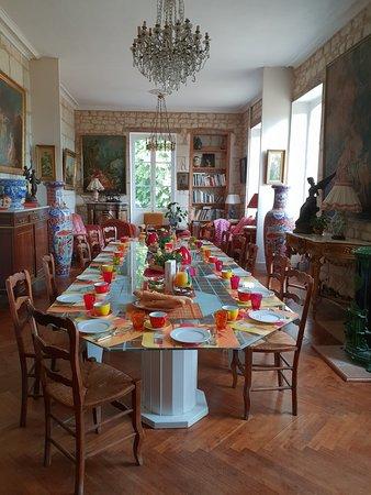 Brizay, Frankrike: Le petit déjeuner