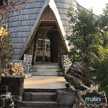Pecatu, Indonesia: Magnifique endroit avec un jardin unique  Le coucher de soleil est sublime depuis la falaise  Pe