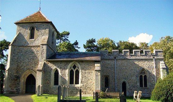 Baldock, UK: St Mary the Virgin, Clothall