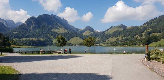 Schwarzsee Lac Noir: lac noir