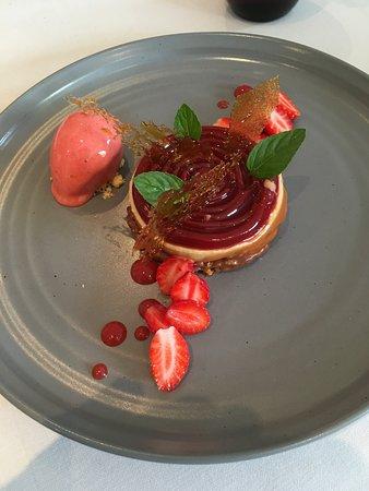 Les Caudalies: Dessert fraises