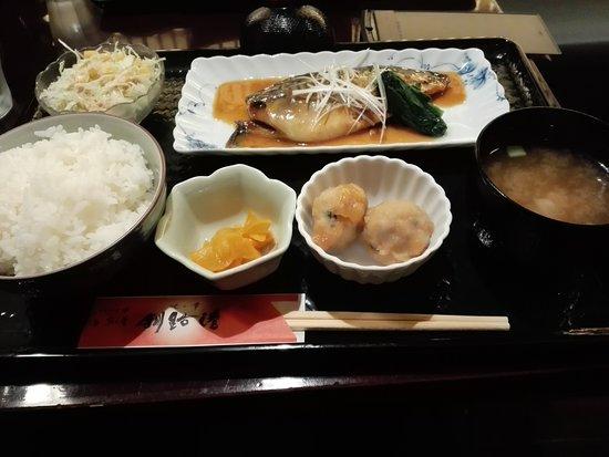 Kitanosachi Kushiroko Shinjuku: サバの味噌煮定食
