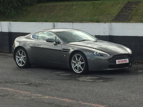 Aston Martin From Drive Me Track Day At Three Sisters Track In Wigan - Aston martin near me