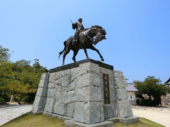 Statue of Todo Takatora