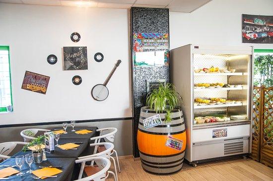Le Pallet, فرنسا: Buffets des desserts