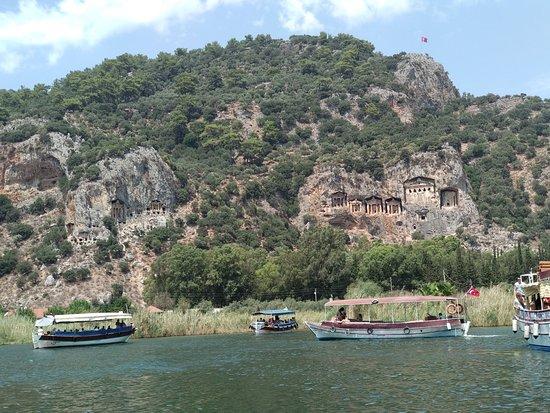 Провинция Мугла, Турция: Lake Koycegiz (Dalyan)