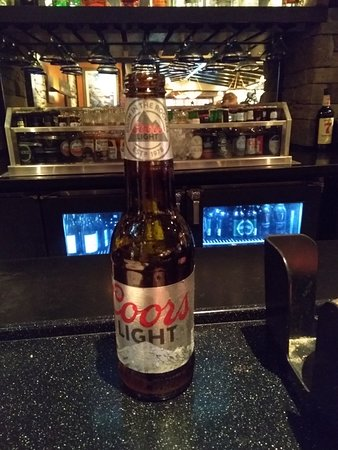 LongHorn Steakhouse: One of Many Chilled Brews Enjoyed