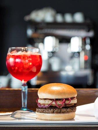 Sprimont, بلجيكا: Foie Gras Burger