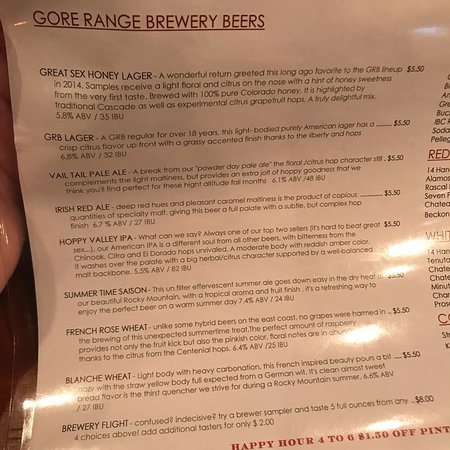 Gore Range Brewery: photo0.jpg