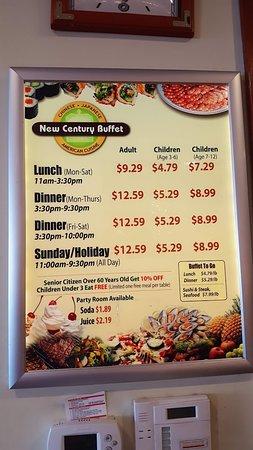 New Century Buffet El Cajon Restaurant Reviews Phone Number Photos Tripadvisor