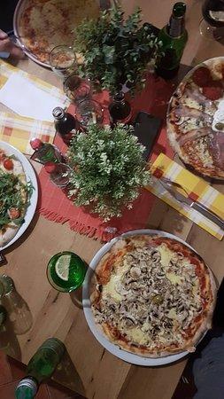 Kraljevica, Croacia: Pizzas