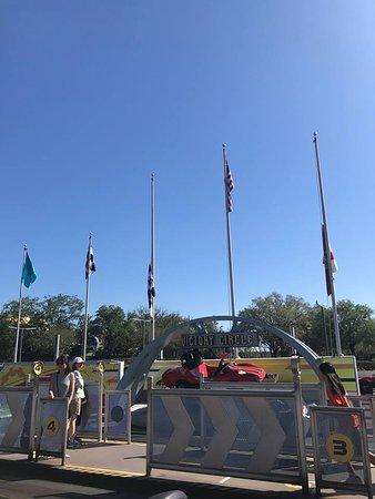 Victory Circle at Tomorrowland Speedway