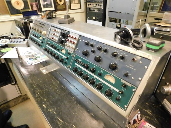 Norman Petty Studios: Control Board