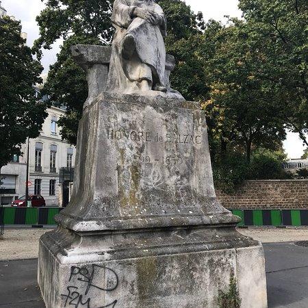 Statue classique de Balzac