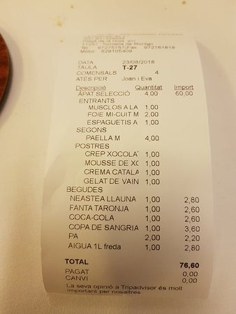 Restaurant Hotel Picasso: 20180823_232158_large.jpg