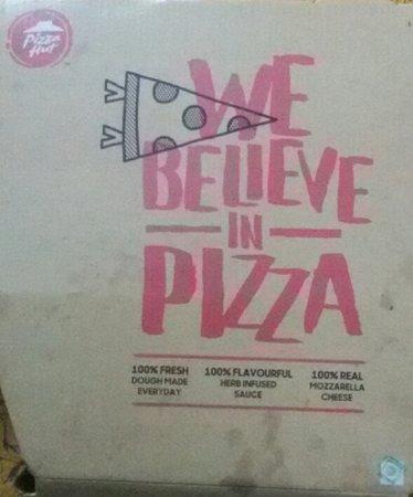 Pizza Hut: Take away Pizza box