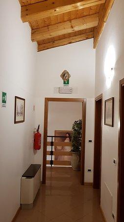 Vigonovo, Italia: Bil vom Flur, der zeigt das alles ordentlich und sauber ist.