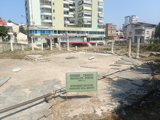 Ancient Marketplace ruins - Picture of Byzantine Forum (Macellum