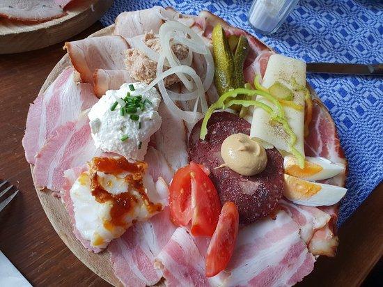 Senftenberg, Österreich: Speisekarte